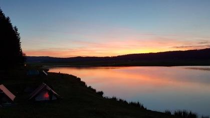 Sonnenuntergang Verlegung Sola 2017