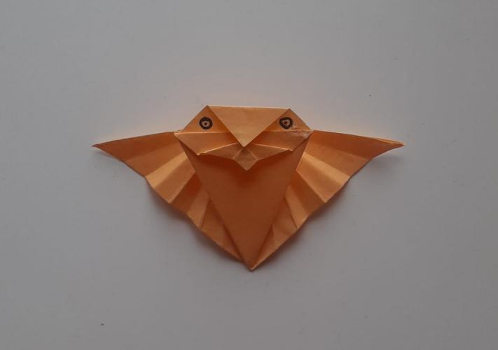 Origami Figur Fledermaus